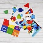 Игрушка развивающая «Весёлые липучки. Блокнот. Цвета и формы» - фото 105527304