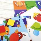 Игрушка развивающая «Весёлые липучки. Блокнот. Цвета и формы» - фото 105527305