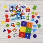 Игрушка развивающая «Весёлые липучки. Блокнот. Цвета и формы» - фото 105527306
