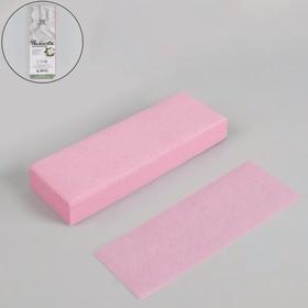 Полоски для депиляции, 20 × 7 см, 100 шт, цвет розовый