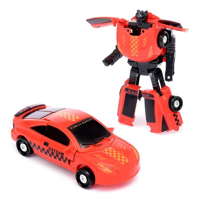 Робот-трансформер «Тачка», цвета МИКС