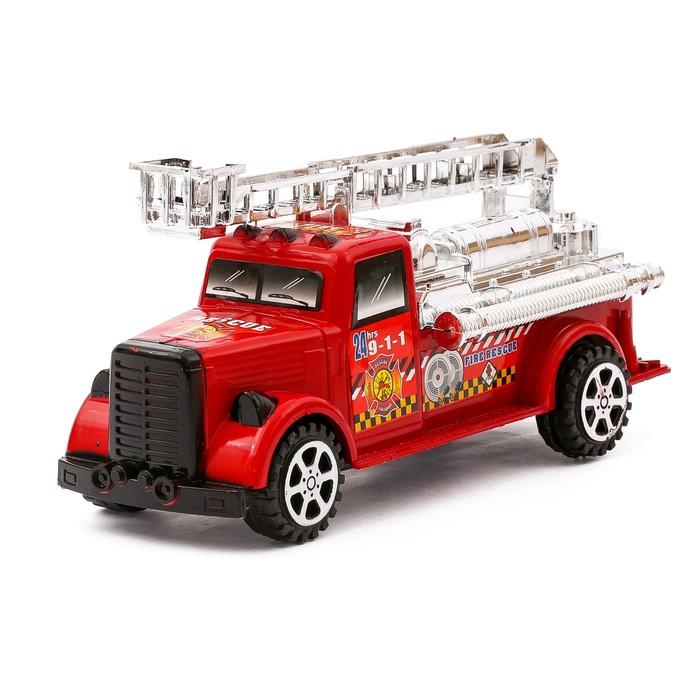 Машина инерционная Пожарная, цвета МИКС