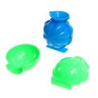 Набор для опытов «Попрыгунчики», 2 формы, 4 цвета - фото 105690636