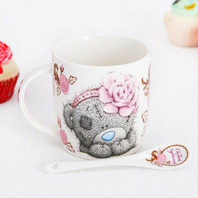 "Mug set with spoon Me To You ""You're the best"", 350 ml"