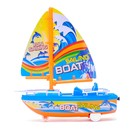 Парусник инерционный «Яхта», цвета МИКС - фото 1012126