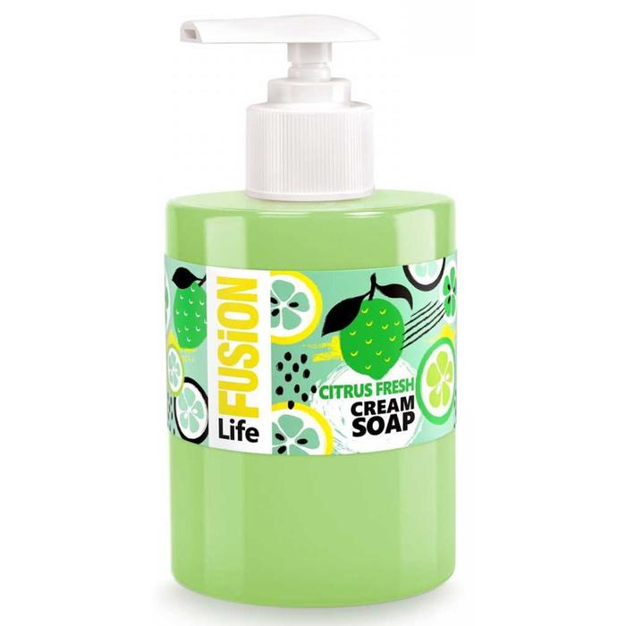Жидкое крем-мыло Life Fusion «Цитрусовый фреш», 300 мл - фото 7432397