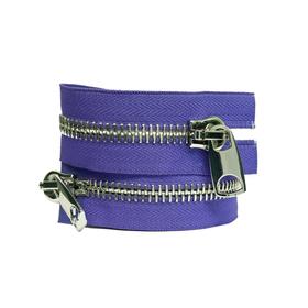 Молния №10, разъёмная, 100 см, цвет фиолетовый