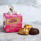 Шоколадные конфеты «Приношу радость», с фигуркой, 50 г
