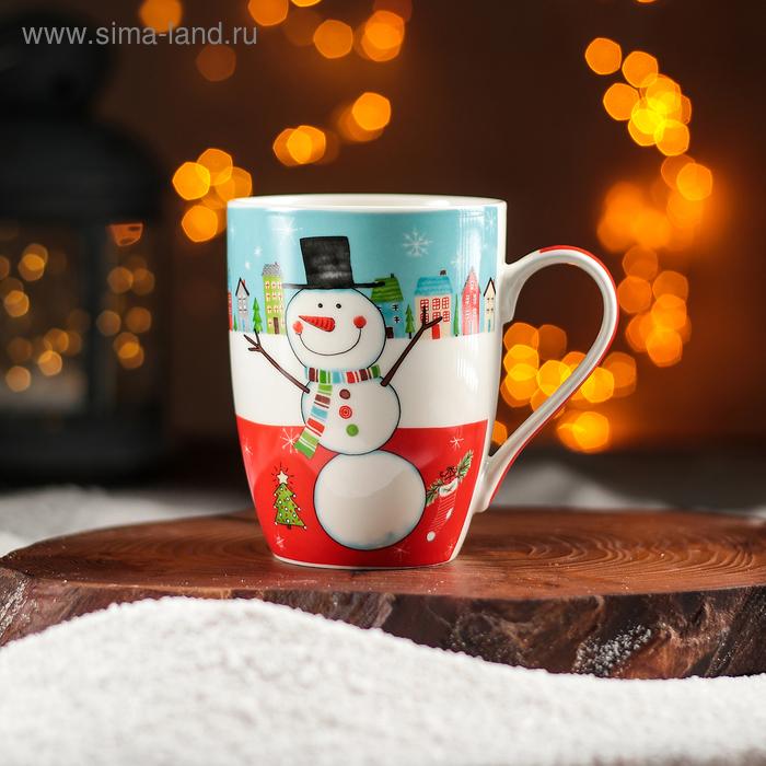 """Mug 350 ml """"Cheerful snowman"""""""