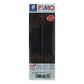 Полимерная глина запекаемая FIMO soft, 454 г, чёрный