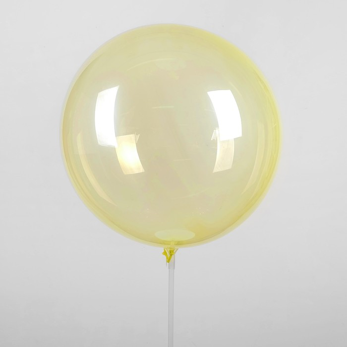 """Шар полимерный 18"""" «Сфера», цвет жёлтый - фото 308466286"""