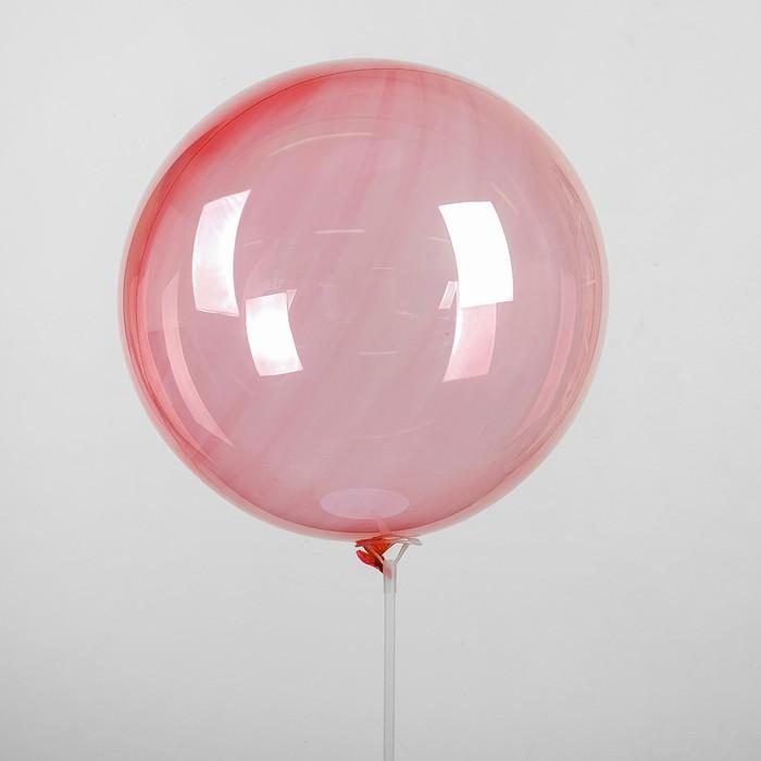 """Шар полимерный 18"""" «Сфера», цвет красный - фото 308466681"""