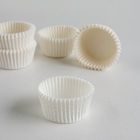 Тарталетка, белая, 3,5 х 2 см Ош