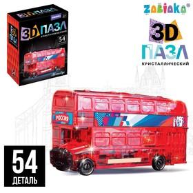 Пазл 3D «Лондонский автобус», МИКС
