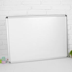 Доска маркерная: 60×90 см, лаковое покрытие, алюминиевые рамки