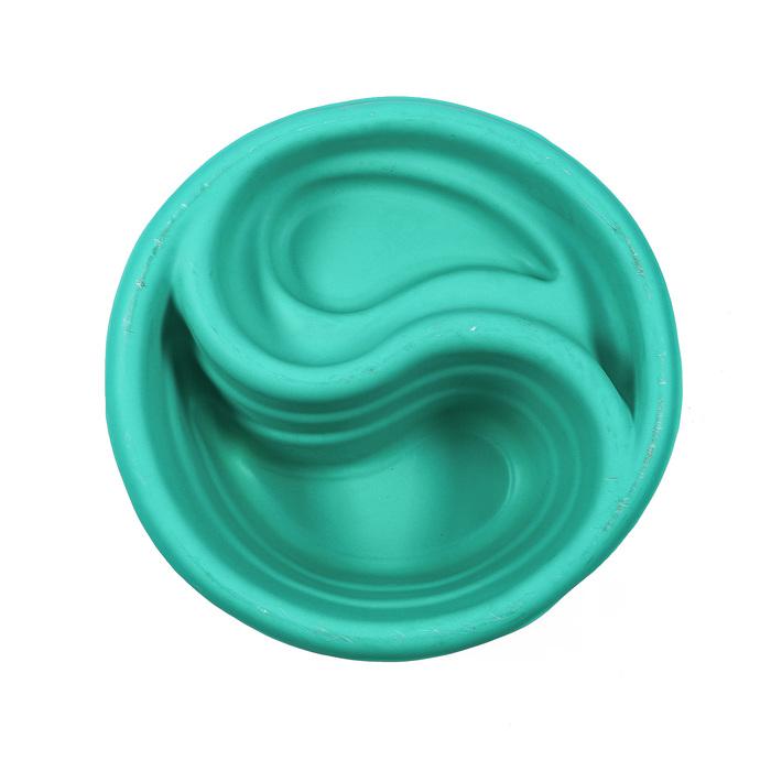 Пруд садовый пластиковый «Инь-Янь», 80 л, зелёный