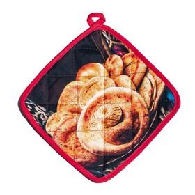 Прихватка Хлеб 20х20 см, 220 г/м2, хлопок 100%