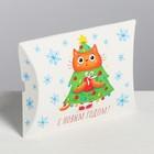 Коробка сборная фигурная «Снежного нового года», 11 × 8 × 2 см