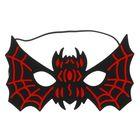 Mask bat black-red