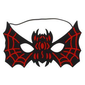 Маска «Летучая мышь», цвет чёрно-красный