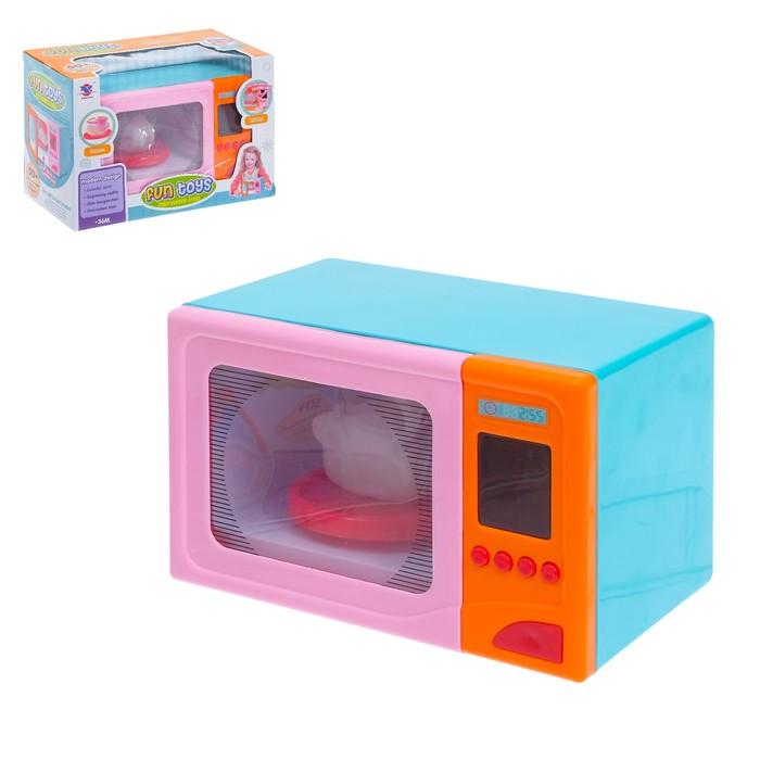 Микроволновая печь «Модерн», световые и звуковые эффекты, подставка вращается, курица меняет цвет