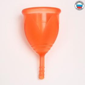 """Менструальная чаша """"Тюльпан"""", размер S, цвет красный"""