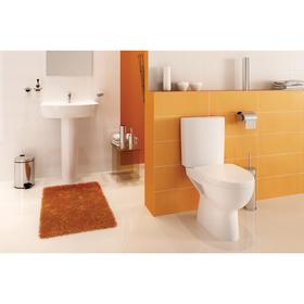 Сиденье для унитаза Cersanit PARVA, slim. дюропласт, lifting, easy-off , цвет белый