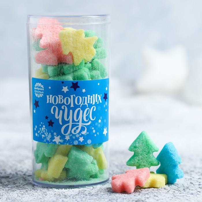 Фигурный сахар «Новогодних чудес», 130 г - фото 725227318