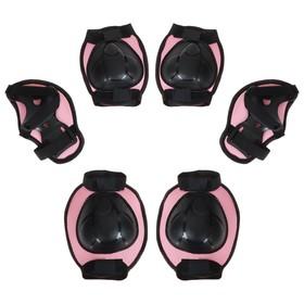 Защита роликовая OT-2015, размер S, цвет розовый