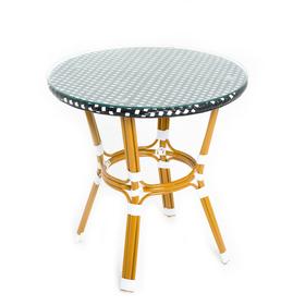 Стол, 70 × 70 × 73 см, натуральный ротанг, CS-01-01