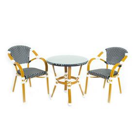 Комплект для отдыха : стол, 2 кресла,  CS-01-01-02