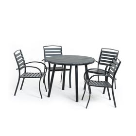 Комплект для отдыха : стол, 4 стула,  DS-01-01-02