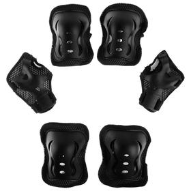 Защита роликовая OT-2020 р L, цвет черный