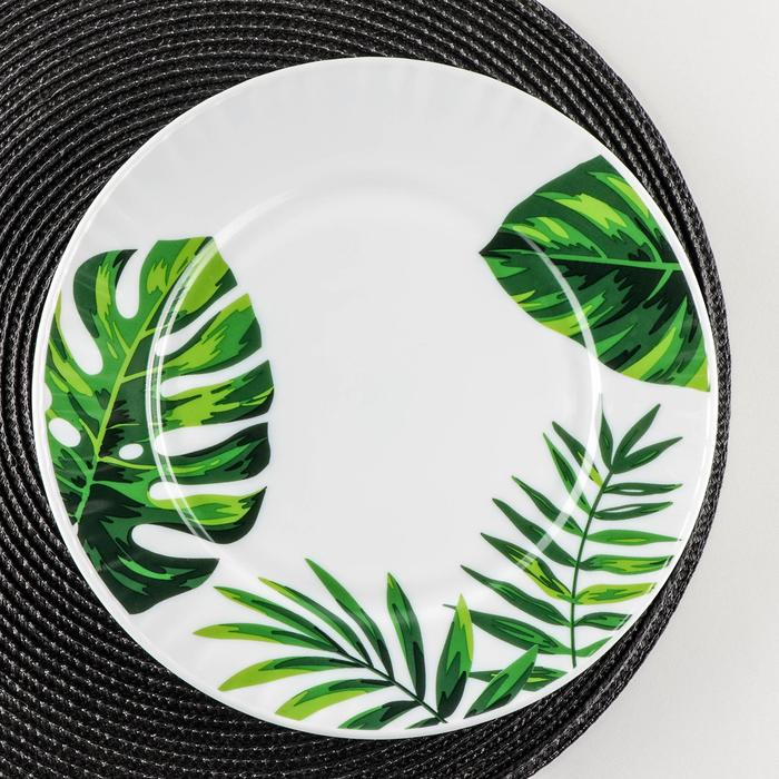 """The dining plate, 25 cm """"fern"""""""