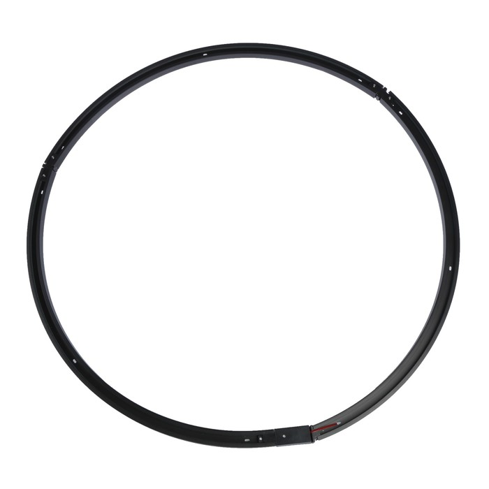 Круглый шинопровод Luazon Lighting для трековых светильников, диаметр 1 метр, набор черный