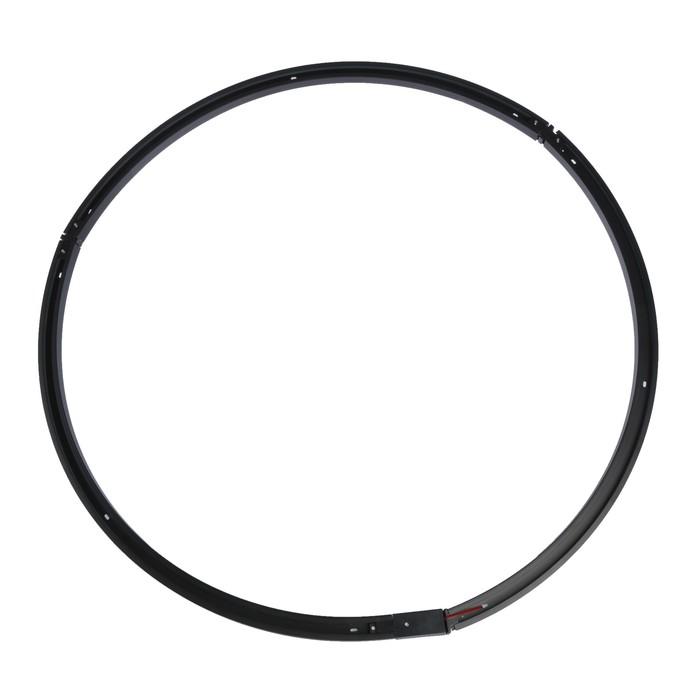 Круглый шинопровод Luazon Lighting для трековых светильников, диаметр 1,5 метра,набор черный   40448