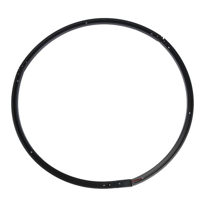 Круглый шинопровод Luazon Lighting для трековых светильников, диаметр 2 метра,набор черный