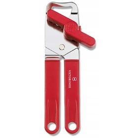 Консервный нож VICTORINOX универсальный, сталь/пластик, красный