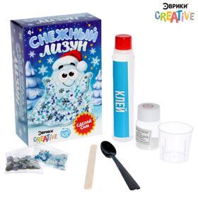 Опыты для детей «Снежный лизун»