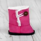 Сапоги для куклы «Пуговка», длина подошвы: 7,5 см, цвет розовый - фото 105513335
