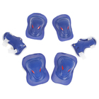 Защита роликовая OT-2030 р M, цвет синий