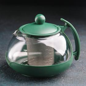 Чайник заварочный 750 мл 'Фантазия', цвет МИКС Ош