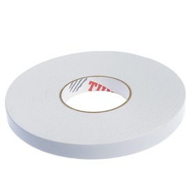 Tape adhesive TUNDRA basic, bilateral, on the basis of the foam, 19 mm x 25 m