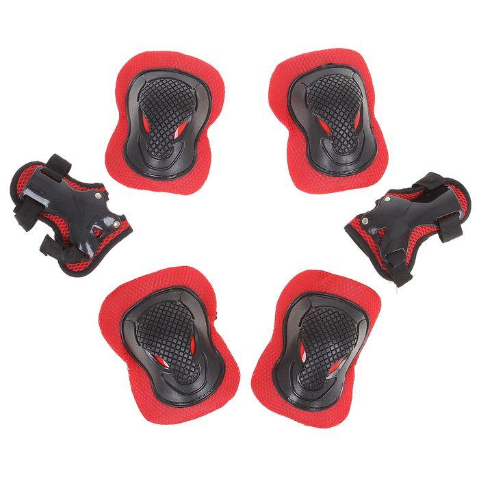 Защита роликовая OT-2030 р L, цвет красный