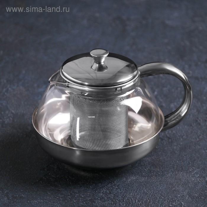 "Чайник заварочный 600 мл ""Металлик"""