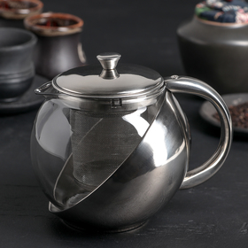 Чайник заварочный «Металлик», 750 мл