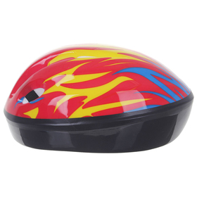 Шлем защитный детский OT-H6, размер S (52-54 см), цвет красный - фото 7391557