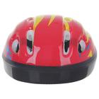 Шлем защитный детский OT-H6, размер S (52-54 см), цвет красный - фото 7391558