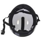 Шлем защитный детский OT-H6, размер S (52-54 см), цвет красный - фото 7391559