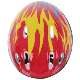 Шлем защитный детский OT-H6, размер S (52-54 см), цвет красный - фото 7391561